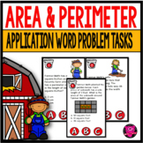 Area and Perimeter Activities Set for Third Grade Math