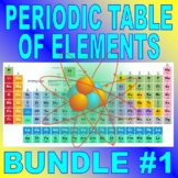 PERIODIC TABLE OF ELEMENTS Bundle Package #1 (10+ Assignments / 40+ Pages)