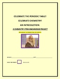 PERIODIC TABLE PROJECT & INTRODUCTION TO ELEMENTS/  GRADES 6-12, MG