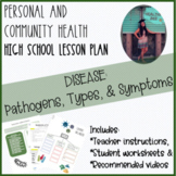 PERSONAL AND COMMUNITY HEALTH LESSON PLAN: Pathogens, Diseases and Symptoms