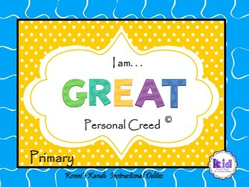 PERSONAL CREED: Promotes self-awareness, self-acceptance,
