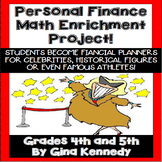 Personal Finance Math Project, Become a Financial Planner for the Stars!