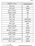 PERSONAL ID VOCABULARY (ARABIC)