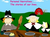 PERSONAL NARRATIVE COMPLETE UNIT WITH LITERATURE AS INSPIRATION FOR SMARTBOARD