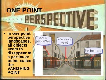 PERSPECTIVE 6 perspective techniques with one and two point (4 lessons)