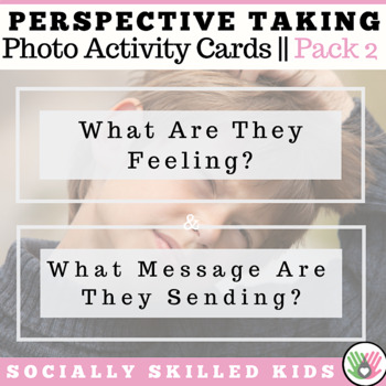 PERSPECTIVE TAKING ACTIVITY ~ Photo Cards BUNDLE 2 {Set 3 and Set 4}