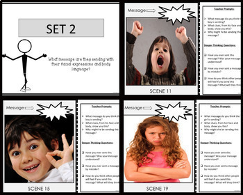 PERSPECTIVE TAKING Photo Card Activity  BUNDLE 2 {Set 3 and Set 4}