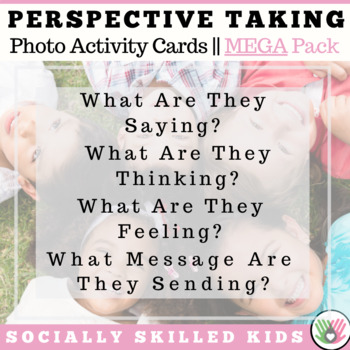 PERSPECTIVE TAKING Photo Activity Cards MEGA BUNDLE  {Sets 1, 2, 3 & 4}