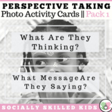 PERSPECTIVE TAKING and SOCIAL SKILLS Photo Activity Cards BUNDLE 1 {Set 1 & 2}