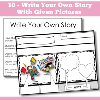 PERSPECTIVE TAKING~ Comic Strip Activity {For k-2nd Grade OR Ability Level}