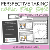 PERSPECTIVE TAKING and SOCIAL SKILLS Comic Strip Activity {K-2nd Grade}