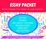 PERSUASIVE ESSAY PACKET! (2 Weeks of Classwork)