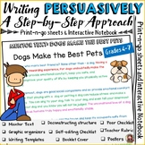 PERSUASIVE/OPINION WRITING: MENTOR TEXT: DOGS MAKE THE BEST PETS