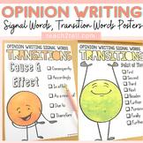 PERSUASIVE/OPINION WRITING POSTERS: FREEBIE