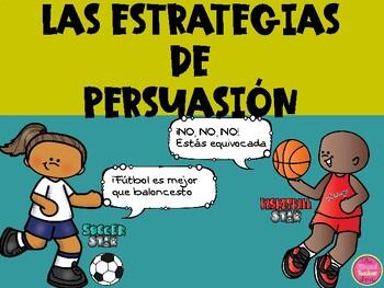 PERSUASIVE STRATEGIES IN SPANISH