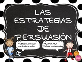 PERSUASIVE STRATEGIES IN SPANISH