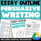 PERSUASIVE WRITING ASSIGNMENT Persuasive Essay Graphic Org