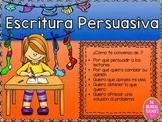 PERSUASIVE WRITING IN SPANISH