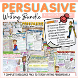 OPINION WRITING/PERSUASIVE WRITING BUNDLE