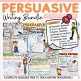 OPINION WRITING/PERSUASIVE WRITING BUNDLE
