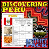 PERU: Discovering Peru Activity Pack