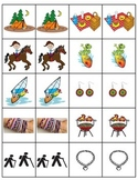 PESCA cards Avancemos 1 Unit 8 Lesson 2