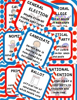 PRESIDENTIAL ELECTION FACT PACK {a simple way to teach a complicated process}