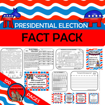 PRESIDENTIAL ELECTION FACT PACK {a simple way to teach a c