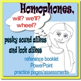 SMALL GROUP READING INTERVENTION: PESKY HOMOPHONES Sound Alikes and Look Alikes