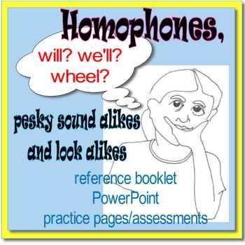 SMALL GROUP READING INTERVENTION: PESKY HOMOPHONES Sound A