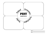 PEST Analysis Graphic Organizer