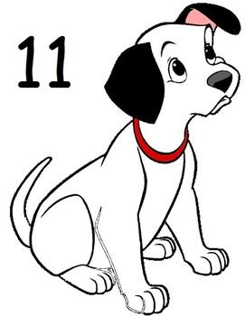 PET AND/OR ANIMAL THEME DALMATIAN MATH ACTIVITY