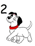 PET AND/OR ANIMAL THEME DALMATIAN MATH ACTIVITY