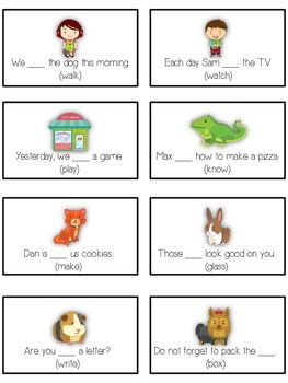 PET SHOP Inflectional Word Endings - ELA First Grade Game - Word Work Center