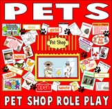 PET SHOP ROLE PLAY TEACHING RESOURCES EYFS KS 1-2 SCIENCE ANIMALS FACE MASKS