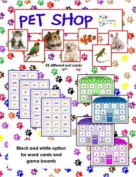 PET SHOP Word Families