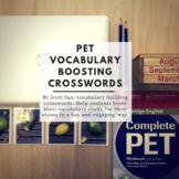 PET Vocabulary Boosting Crosswords