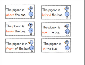 PIGEON LEARNS ABOUT PREPOSITIONS