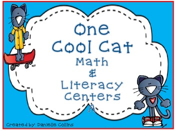 ONE COOL CAT MATH & LITERACY PACK AB-Kinder/1