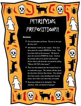PETRIFYING PREPOSITIONS!