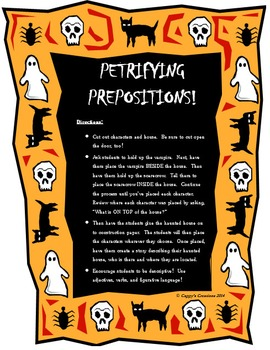 PETRIFYING PREPOSITIONS!