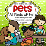 PETS Theme Unit for Preschool and Pre-K
