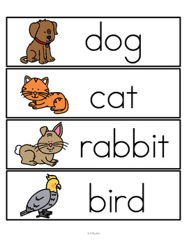 PETS Math and Literacy Centers and Activities Theme Unit ...