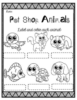 PET SHOP ANIMALS K-1
