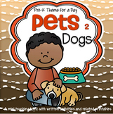 Dogs Theme Math and Literacy Activities, Printables and Centers Preschool