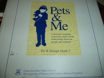 PETS  AND  ME      ISBN 0-9632552-0-7