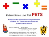 PETS Approach to Solving Math Word Problems