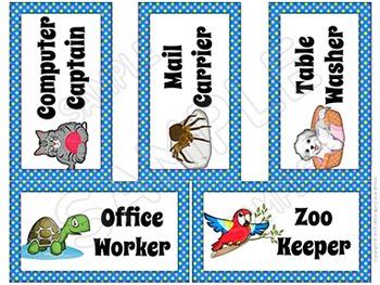 Classroom Themes - Pets