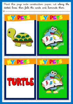 PETS - MEMORY GAME