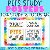 Creative Curriculum Teaching Strategies GOLD | PETS STUDY Posters